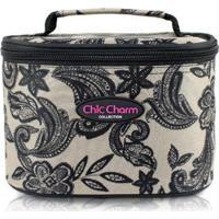 Necessaire Jacki Design Chic Charm - Unissex-Creme