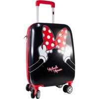 Mala De Viagem Infantil Luxcel Minnie Mouse Mf10121Mi Feminina - Feminino