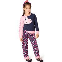 Pijama Moletom Fantasia Dino Kids 1