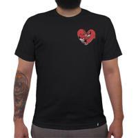 Eu Amo Doguinhos - Camiseta Clássica Masculina