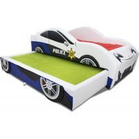 Bicama Policia - Cama Carro Branco