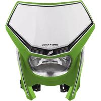 Farol Com Carenagem Pro Tork Off Road Verde
