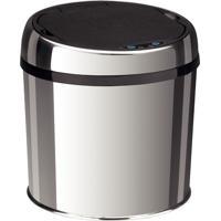 Lixeira Em Aço Inox Automática Com Sensor 6 Litros - Tramontina