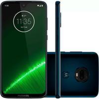Smartphone Motorola Moto G7 Plus 64Gb Xt1965 Desbloqueado Índigo