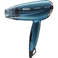 Secador De Cabelo Travel Blue 1200W Philco Bivolt Psc02