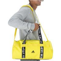 Mala Adidas 4Athlts Duffel S - Amarelo/Preto