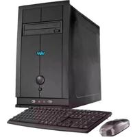 Computador Desktop Cce E365 - Intel Core I3-2130 - Ram 6Gb - Hd 500Gb - Gravador De Dvd - Windows 8
