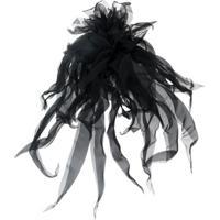 Nº21 Broche Floral - Preto