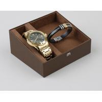 f57f130a9 CEA  Kit De Relógio Analógico Mondaine Masculino + Pulseira - 83458Gpmvde2K  Dourado - Único