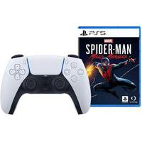 Controle Sem Fio Ps5 Dualsense + Jogo Marvel´S Spider-Man: Miles Morales Ps5