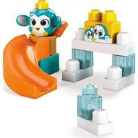 Blocos De Montar - Mega Bloks - Peek A Blocks - Escorregador - Pandinha - Fisher-Price Blocos De Montar - Mega Bloks - Peek A Blocks - Escorregador -