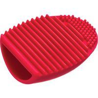Esponja Para Limpeza De Pincéis Belliz - Feminino-Vermelho