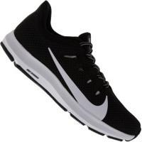 Tênis Nike Quest 2 - Feminino - Preto/Branco