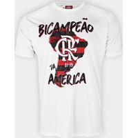 Camiseta Flamengo Bi Campeão Da América Masculina - Masculino