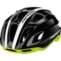 Capacete Para Ciclismo Merida Team Race 19 Entradas De Ar 52-56 Cm - Unissex
