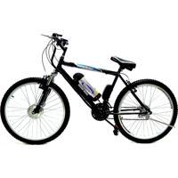 Bicicleta Elétrica Machine Motors Lithium 350W 36V Preta