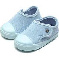 Tênis Pimpolho Infantil Liso Azul