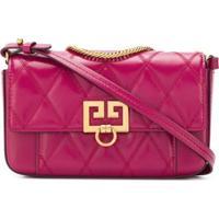 Givenchy Bolsa Transversal Matelassê - Rosa
