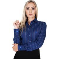 Camisa Lupim Azul Marinho Listras