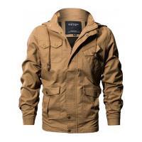 Jaqueta Masculina Com Capuz Portland - Khaki