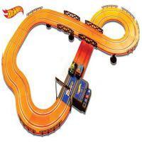 Pista Hot Wheels Track Set 380Cm Com 2 Carrinhos + 2 Controles Indicado Para +5 Anos Multikids - Br082 Br082