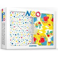 Baralho Duplo Plã¡Stico Neo Ink - Copag - Multicolorido - Dafiti