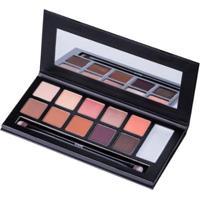 Paleta De Sombra Klasme - Eyeshadow Palette Warm Day - Unissex-Incolor