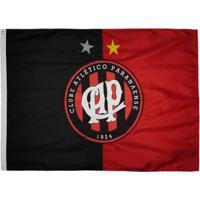 Bandeira Athletico Paranaense Oficial 2 Panos - Unissex