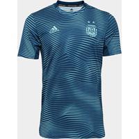c985ac17e6fbd ... Camisa Argentina 19 20 Pré-Jogo - Adidas Masculina - Masculino