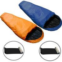 2 Sacos De Dormir Micron X-Lite + 2 Isolantes Térmico Nautika - Unissex