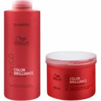 Kit Shampoo E Máscara Wella Collor Brilliance Invigo - Unissex-Incolor