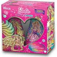 Kit Ricca Barbie Reinos Mágicos Shampoo 250Ml + Condicionador 250Ml - Feminino-Incolor