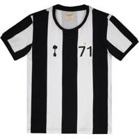 Camisa Alvinegro Retrô 1971 Juvenil - Masculino
