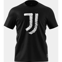 Camiseta Juventus Adidas Gráfica Masculina - Masculino