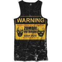 Regata Bsc Zombies Zona Infectada 5 Sublimada Masculina - Masculino-Preto