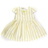 Vestido Infantil / Baby Em Tricoline Rosê - Um Mais Um Cru