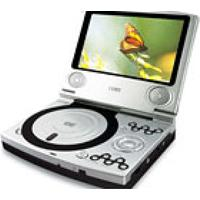 Dvd Player Portátil Com Lcd 7.0´´ Widescreen