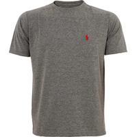 Camiseta Ralph Lauren Custom Fit Chumbo
