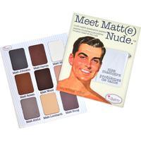 Paleta De Sombras The Balm Meet Matt(E) Nude - Feminino-Incolor