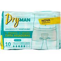 Absorvente Dryman Masculino C/10 Unidades