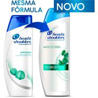 Shampoo De Cuidados Com A Raiz Head E Shoulders Anticoceira 400Ml