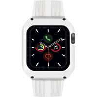 Pulseira Gorila Shield Dual Shock Para Apple Watch 42Mm Branco
