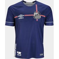 56a1da1e8e Netshoes  Camisa Santos 2018 S N° The Kingdom - Torcedor Umbro Masculina -  Masculino