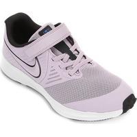 Tênis Infantil Nike Star Runner 2 Psv Masculino - Unissex-Lilás+Branco