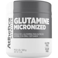 Glutamine Micronized- 500G- Atlhetica Nutritionatlhetica Nutrition
