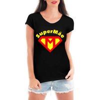 Blusa Criativa Urbana Super Mãe Dia Das Mães T-Shirt Feminina - Feminino