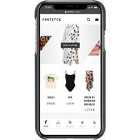 Off-White Capa Para Iphone Xr Com Logo - Preto