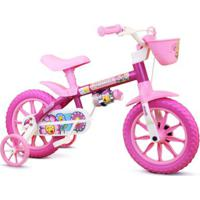 Bicicleta Aro 12 Infantil Feminina Flower - Feminino