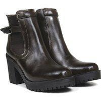 Bota Montaria Lançamento Feminina Sw Shoes Cano Médio Marrom