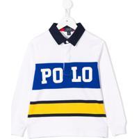 Ralph Lauren Kids Camisa Polo Com Logo - Branco